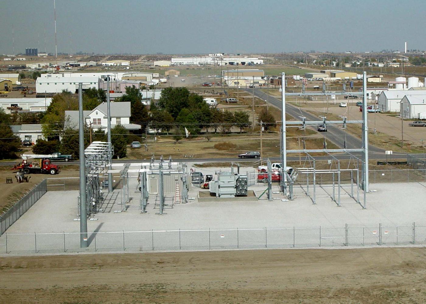 Peak power engineering rural distribution substation for Distribution substation